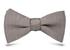 галстук-бабочка серого цвета